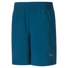 Puma Mens Favourite Blaster 7in Woven Training Shorts Blue S, Blue, rebel_hi-res