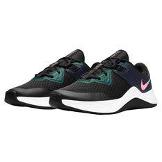 Nike MC Trainer Womens Training Shoes, Black/Pink, rebel_hi-res