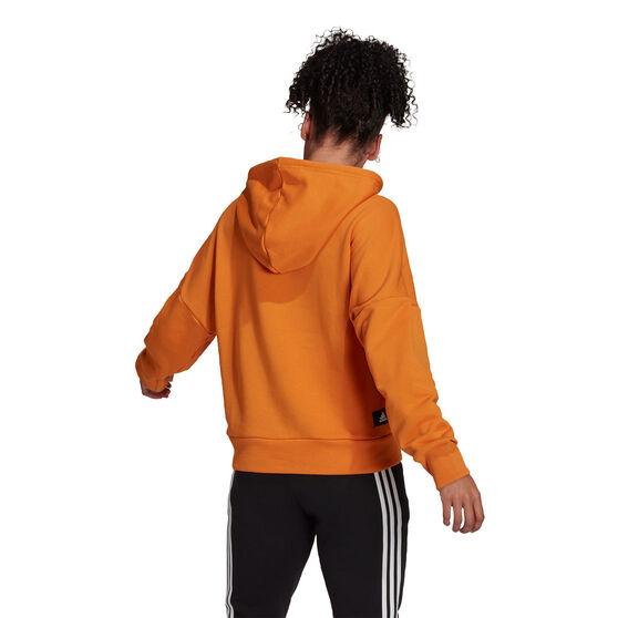 adidas Womens Sportswear Future Icons Hoodie, Orange, rebel_hi-res