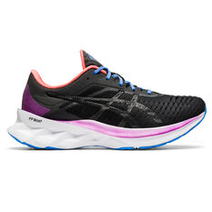 Asics Novablast Womens Running Shoes Black US 9.5, Black, rebel_hi-res