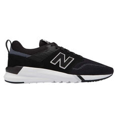 New Balance 009 Womens Casual Shoes Black / White US 6, Black / White, rebel_hi-res
