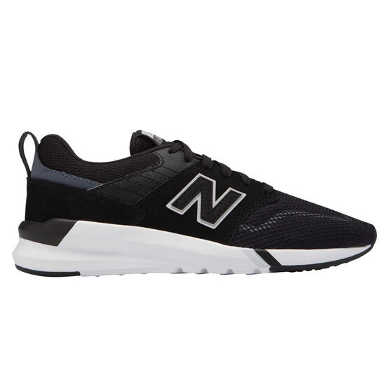 New Balance 009 Womens Casual Shoes, Black / White, rebel_hi-res