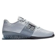 Nike Romaleos 3 XD Mens Training Shoes Grey / Black US 7, Grey / Black, rebel_hi-res