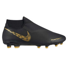 Nike Phantom Vision Academy Dynamic Fit Mens Football Boots Black / Gold US Mens 7 / Womens 8.5, Black / Gold, rebel_hi-res