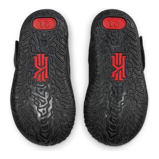Nike Kyrie 7 Toddlers Shoes, Black/Red, rebel_hi-res