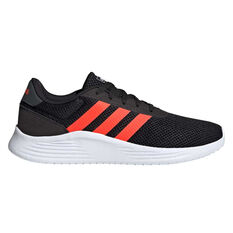 adidas Lite Racer 2.0 Mens Casual Shoes Black/Grey US 7, Black/Grey, rebel_hi-res