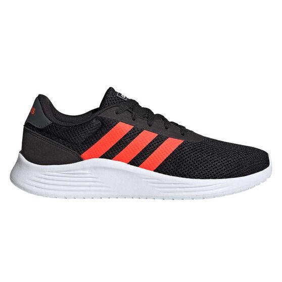 adidas Lite Racer 2.0 Mens Casual Shoes, Black/Grey, rebel_hi-res