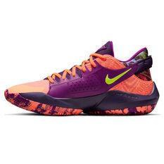 Nike Zoom Freak 2 Bright Mango Basketball Shoes Mango US 7, Mango, rebel_hi-res