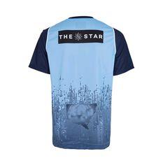 NSW State of Origin Mens Training Tee Blue M, Blue, rebel_hi-res