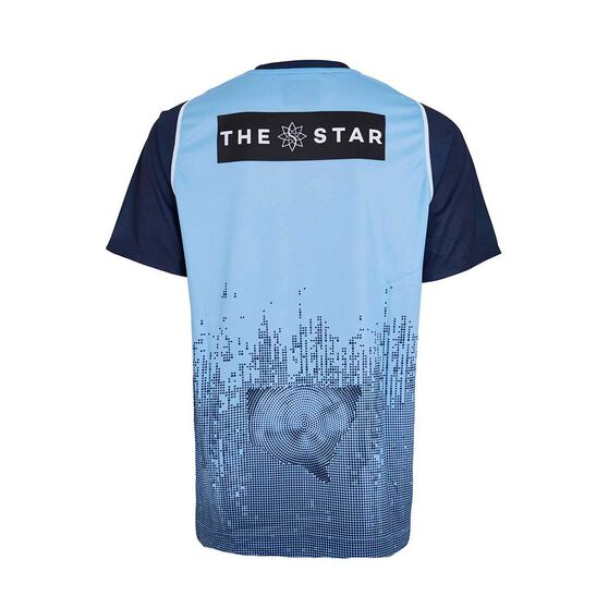 NSW State of Origin Mens Training Tee, Blue, rebel_hi-res