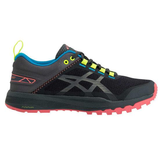 Asics Gel Fuji Lyte XT Womens Trail Running Shoes, Grey / Orange, rebel_hi-res