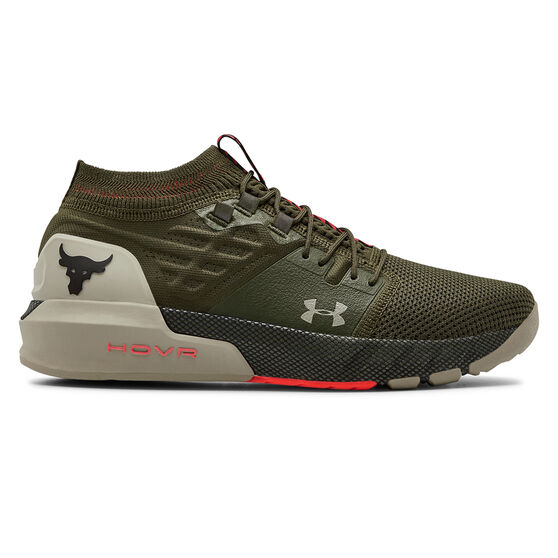 Under Armour Project Rock 2 Mens Training Shoes, , rebel_hi-res
