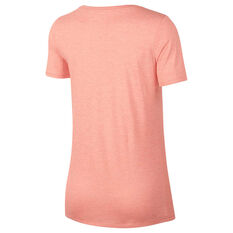 Nike Womens Dry Training Tee Pink XS, Pink, rebel_hi-res