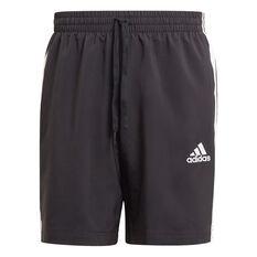 adidas Mens AEROREADY Essentials Chelsea 3-Stripes Shorts Black XS, Black, rebel_hi-res