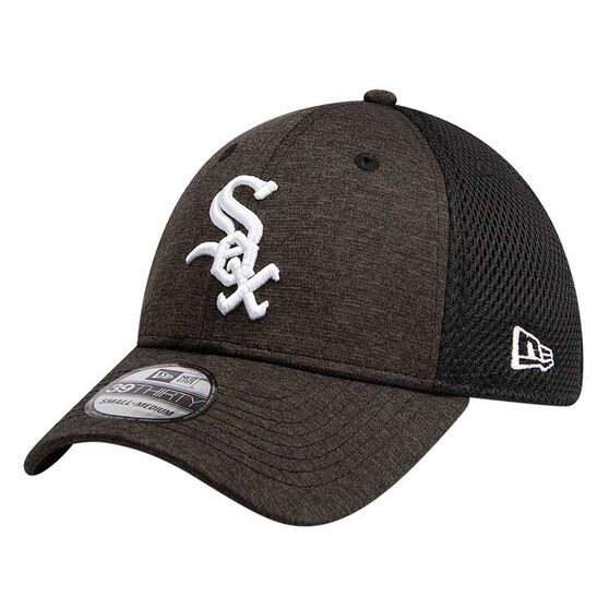Chicago White Sox New Era Spacer Stretch 39THIRTY Cap Black M/L M/L, Black, rebel_hi-res