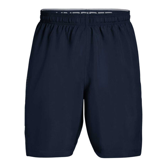 Under Armour Mens Woven Graphic Training  Shorts, Navy, rebel_hi-res