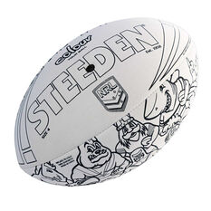 Steeden NRL Colour In Ball, , rebel_hi-res