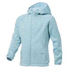 Tahwalhi Girls Shepard Full Zip Hoodie Blue 4, Blue, rebel_hi-res