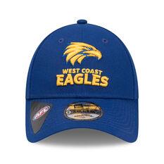 West Coast Eagles 2019 New Era 9FORTY Media Cap, , rebel_hi-res