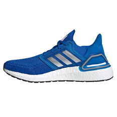 adidas Ultraboost 20 Space Race Mens Running Shoes Blue US 7, Blue, rebel_hi-res