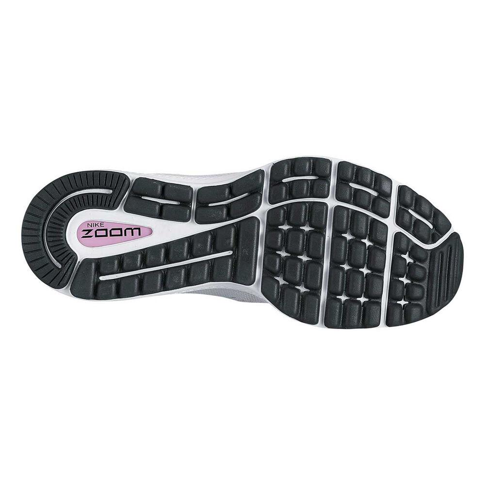 Nike Air Zoom Vomero 12 Womens Running Shoes Grey   White US 8.5 ... 73f49e8504f