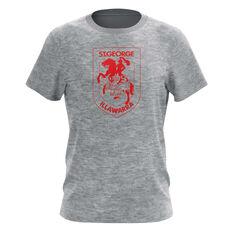 St George Illawarra Dragons Mens Outline Tee, , rebel_hi-res