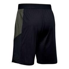 Under Armour Mens MK-1 Emboss Shorts Black M, Black, rebel_hi-res