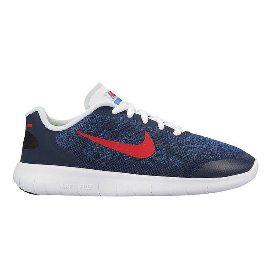 Nike Free Run 2017 Boys Running Shoes, , rebel_hi-res
