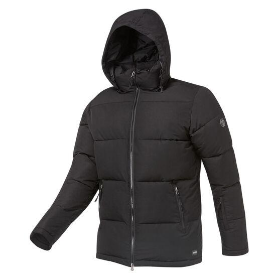 Tahwalhi Mens Polaris Quilted Ski Jacket Black S, Black, rebel_hi-res