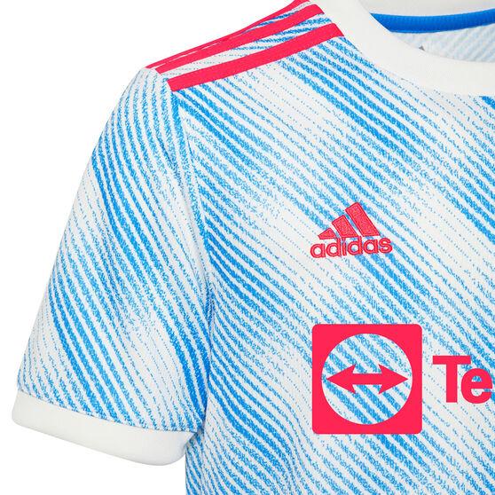Manchester United 2021/22 Mens Replica Away Jersey Blue S, Blue, rebel_hi-res