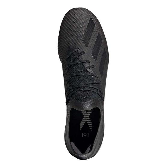 adidas X 19.1 Football Boots, Black / Silver, rebel_hi-res