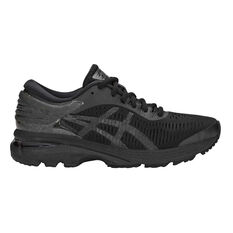 Asics GEL Kayano 25 Womens Running Shoes Black US 6, Black, rebel_hi-res