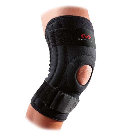 McDavid Knee Support with Stays, Black, rebel_hi-res