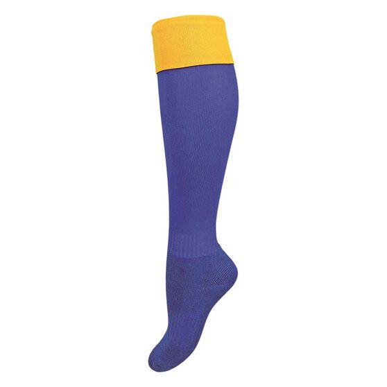 Burley West Coast Away Kids Football Socks, , rebel_hi-res