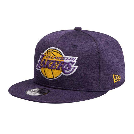 Los Angeles Lakers Kids New Era 9FIFTY Shadow Tech Team Cap, , rebel_hi-res