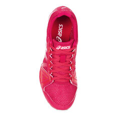 Asics Gel Firestorm 3 Junior Track Shoes Pink / White US 13, Pink / White, rebel_hi-res