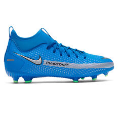 Nike Phantom GT Academy Dynamic Fit Kids Football Boots Blue US 1, Blue, rebel_hi-res