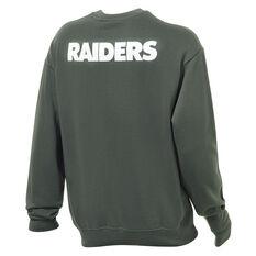 Las Vegas Raiders Mens Gamily Crew Sweatshirt Grey S, Grey, rebel_hi-res