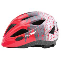 Flight Toddler Bike Helmet Red / Grey 46 to 51cm, , rebel_hi-res