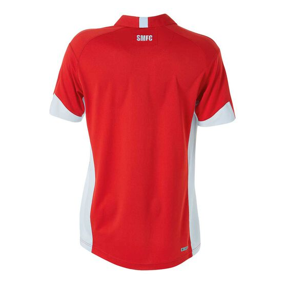 Sydney Swans 2018 Mens Polo Shirt Red S, Red, rebel_hi-res