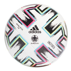 adidas Uniforia League Soccer Ball White / Multi 4, White / Multi, rebel_hi-res