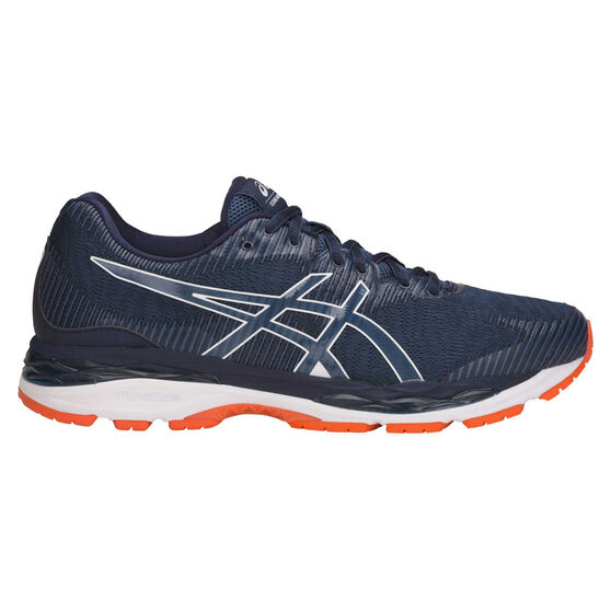 Asics GEL Ziruss 2 Mens Running Shoes, Black / Blue, rebel_hi-res