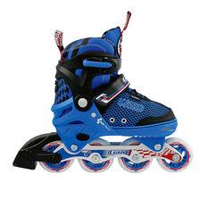 Crazy Skate Junior Adjustable Skates Black / Blue S, Black / Blue, rebel_hi-res