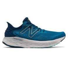 New Balance 1080v11 Mens Running Shoes Blue US 7, Blue, rebel_hi-res