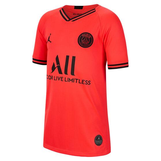 Paris Saint Germain FC 2019/20 Kids Away Jersey Red XL, Red, rebel_hi-res