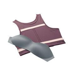 Nike Womens Dri-FIT Swoosh Run Division Sports Bra, Purple, rebel_hi-res