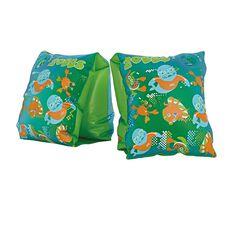 Zoggy Junior Inflatable Swim Armbands Blue / Green Junior, , rebel_hi-res