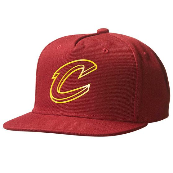 Mitchell and Ness Cleveland Cavaliers Outline Cap Black OSFA, , rebel_hi-res