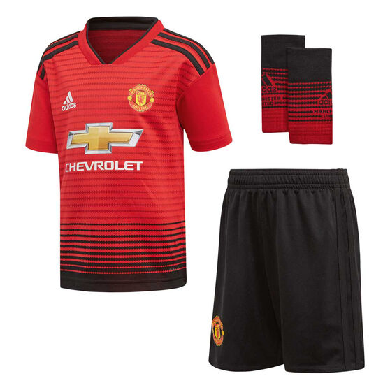 best website b2145 dab10 Manchester United 2018 / 19 Infants Home Kit