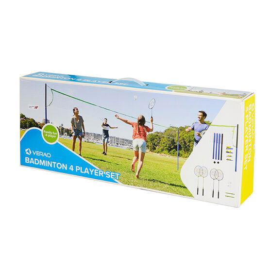 Verao 4 Player Badminton Set, , rebel_hi-res